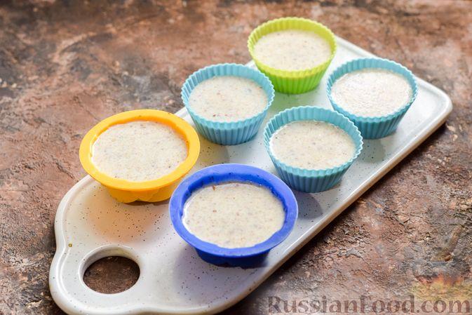 Фото приготовления рецепта: Сливочное желе с орехами - шаг №10