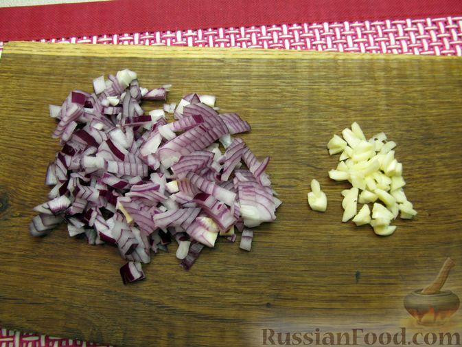 Фото приготовления рецепта: Мясные тефтели в томатно-тыквенным соусе - шаг №7
