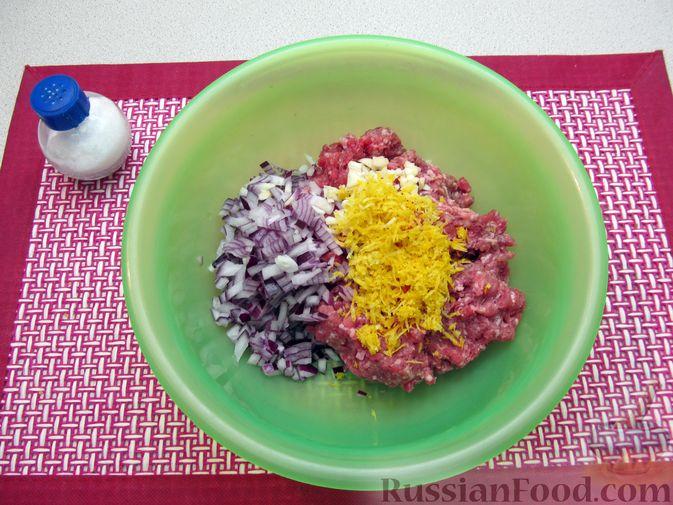 Фото приготовления рецепта: Мясные тефтели в томатно-тыквенным соусе - шаг №17