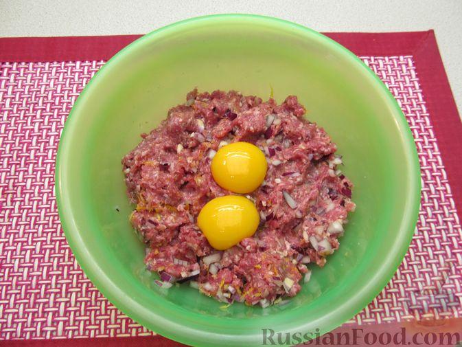 Фото приготовления рецепта: Мясные тефтели в томатно-тыквенным соусе - шаг №19