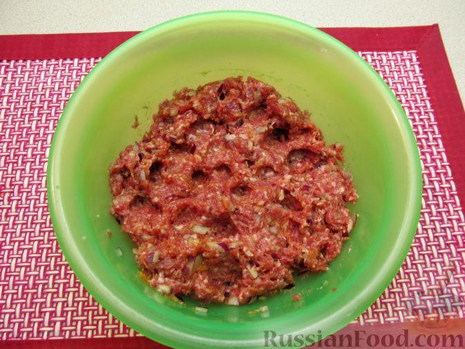 Фото приготовления рецепта: Мясные тефтели в томатно-тыквенным соусе - шаг №20