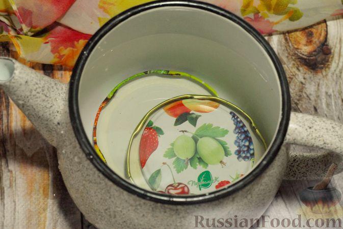 Фото приготовления рецепта: Клюквенный джем (на зиму) - шаг №9