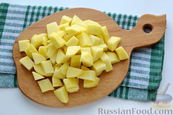 Фото приготовления рецепта: Треска под сливками и сыром (в духовке) - шаг №8