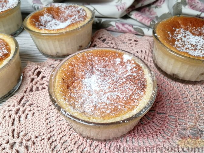 Фото приготовления рецепта: Молочное суфле с черносливом - шаг №15