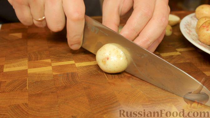 Фото приготовления рецепта: Свинина с картошкой в духовке - шаг №2
