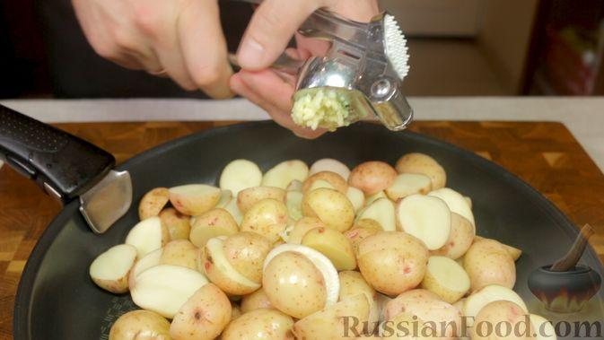 Фото приготовления рецепта: Свинина с картошкой в духовке - шаг №3