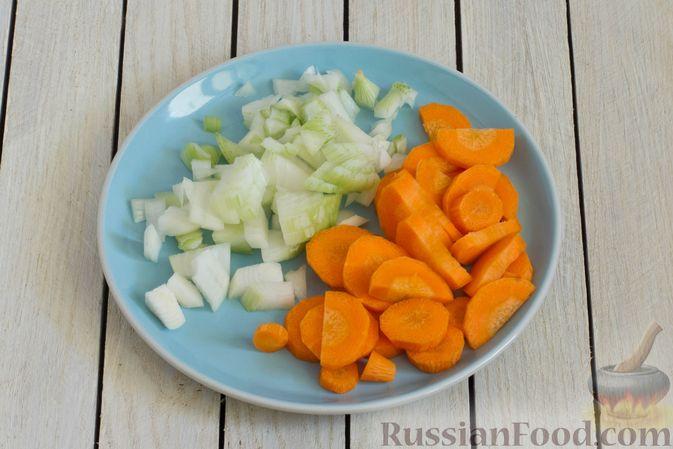 Фото приготовления рецепта: Тыквенное пюре с цветной капустой и морковью - шаг №2