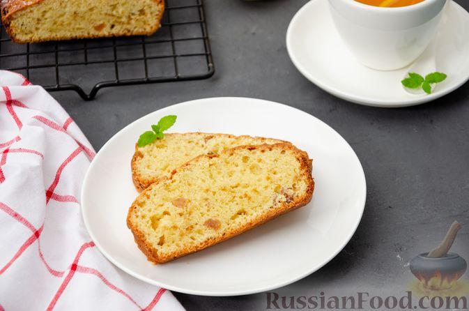 Фото к рецепту: Творожный кекс с изюмом