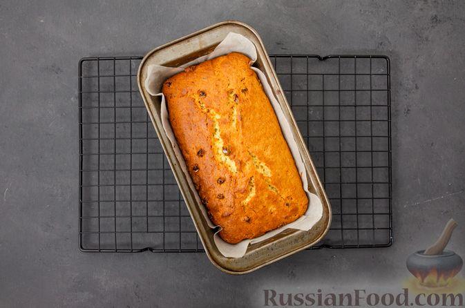 Фото приготовления рецепта: Творожный кекс с изюмом - шаг №12