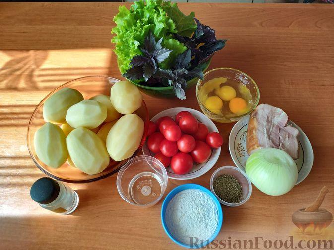 Фото приготовления рецепта: Картофельная бабка - шаг №1