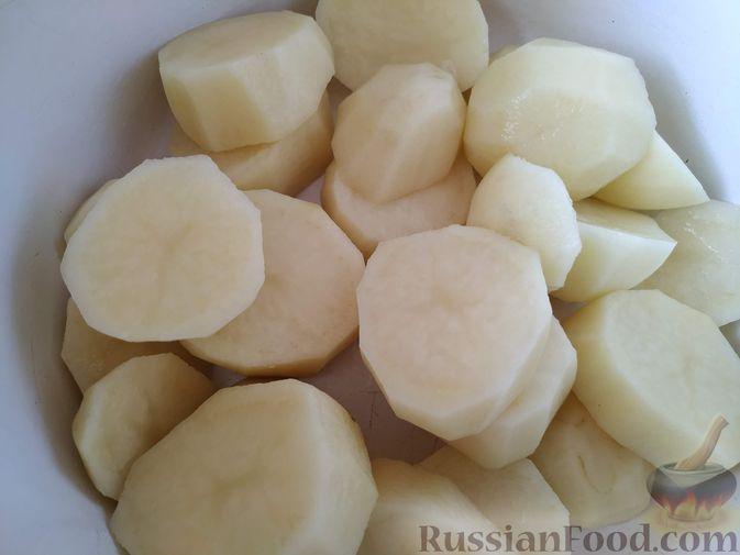 Фото приготовления рецепта: Картофельная бабка - шаг №2