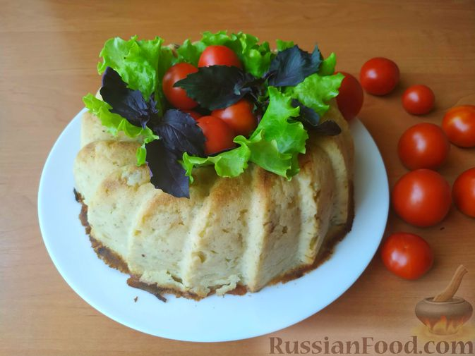 Фото приготовления рецепта: Картофельная бабка - шаг №11