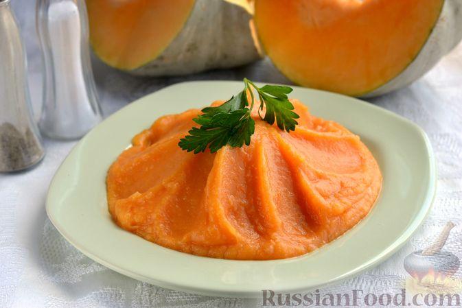 Фото к рецепту: Картофельно-тыквенное пюре