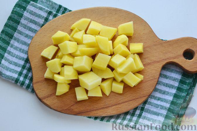 Фото приготовления рецепта: Картофельно-тыквенное пюре - шаг №2