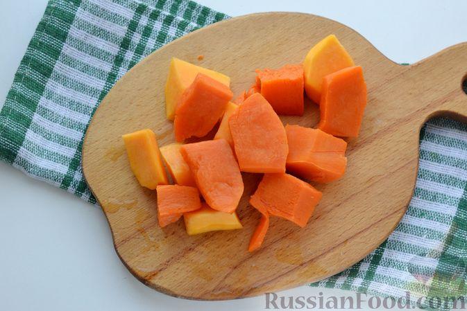 Фото приготовления рецепта: Картофельно-тыквенное пюре - шаг №3