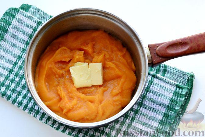 Фото приготовления рецепта: Картофельно-тыквенное пюре - шаг №7