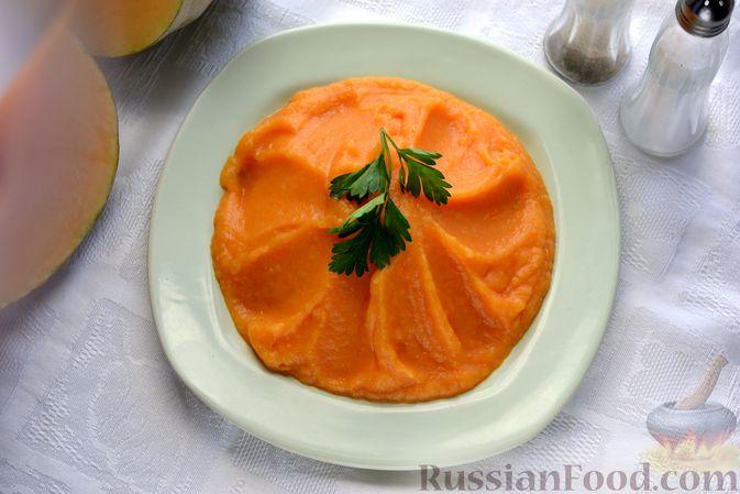 Фото приготовления рецепта: Картофельно-тыквенное пюре - шаг №8