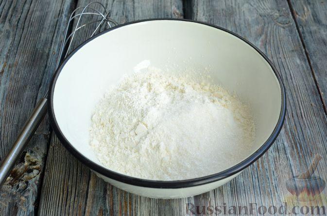 Фото приготовления рецепта: Кофейные панкейки - шаг №4