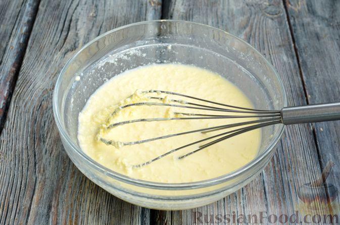 Фото приготовления рецепта: Кофейные панкейки - шаг №3