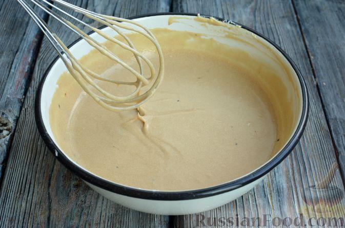 Фото приготовления рецепта: Кофейные панкейки - шаг №7