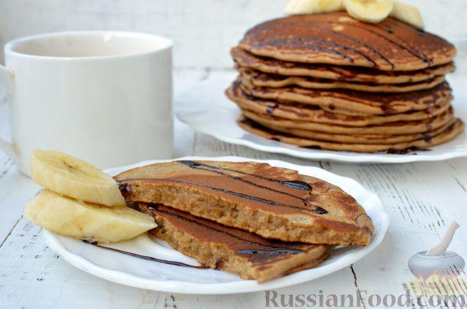 Фото приготовления рецепта: Кофейные панкейки - шаг №14
