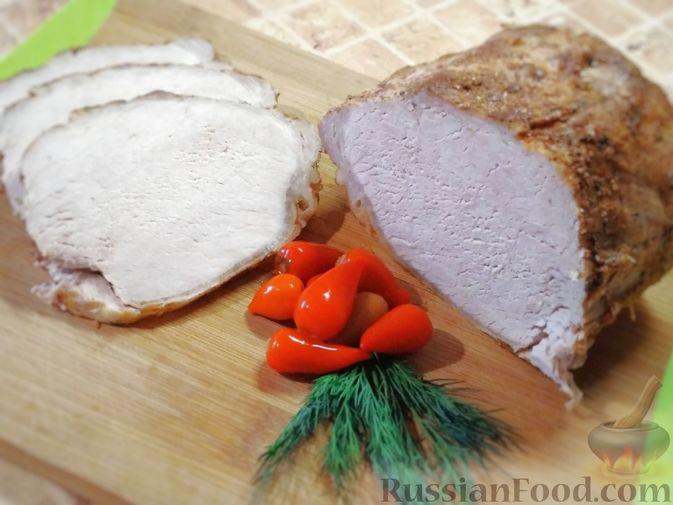 Фото к рецепту: Буженина из свиной корейки