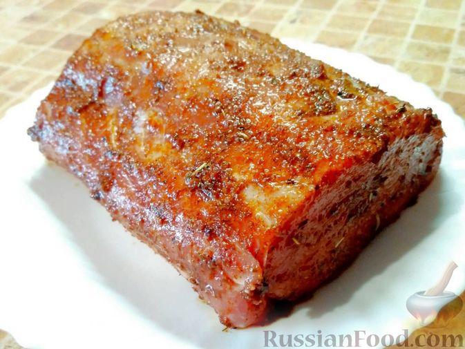 Фото приготовления рецепта: Буженина из свиной корейки - шаг №2