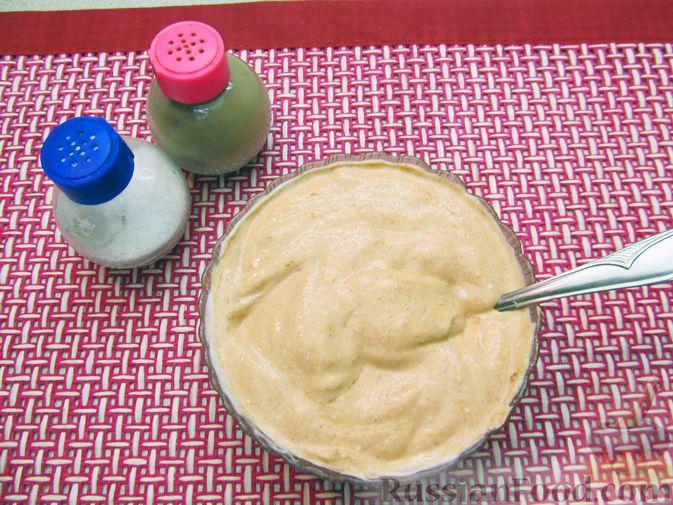 Фото приготовления рецепта: Свиная печень, запечённая с морковью, луком и сыром - шаг №9