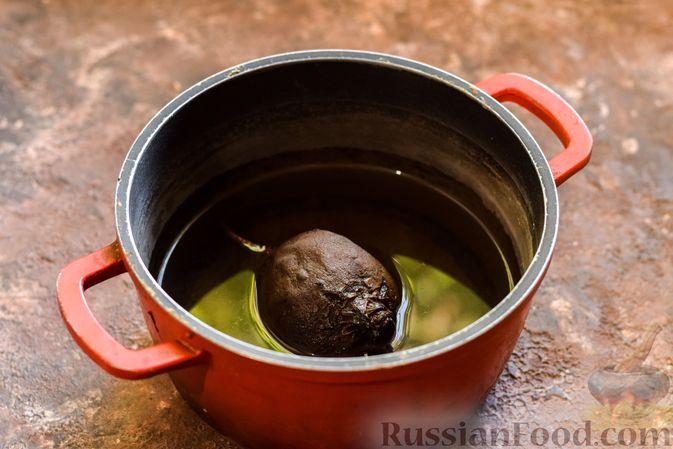 Фото приготовления рецепта: Ленивые вареники со свеклой - шаг №2