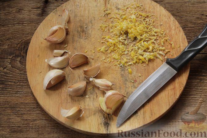 Фото приготовления рецепта: Курица, запечённая в молоке с пряностями - шаг №7