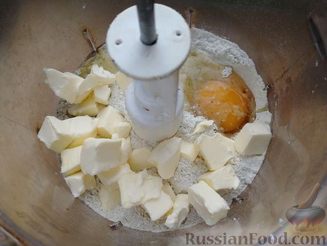 Фото приготовления рецепта: Кунжутное печенье с зелёным чаем - шаг №3