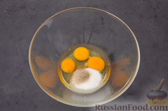Фото приготовления рецепта: Яблочное печенье с мёдом, сухофруктами и орехами - шаг №6
