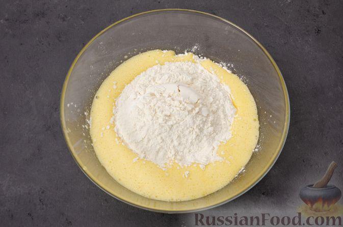 Фото приготовления рецепта: Яблочное печенье с мёдом, сухофруктами и орехами - шаг №9