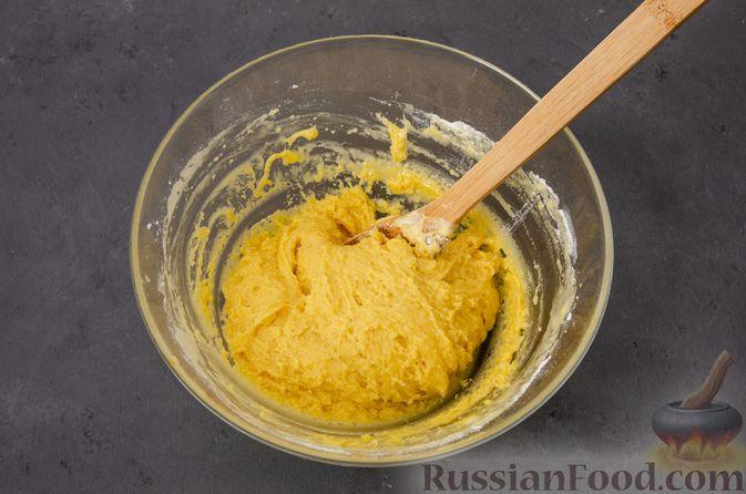 Фото приготовления рецепта: Яблочное печенье с мёдом, сухофруктами и орехами - шаг №10