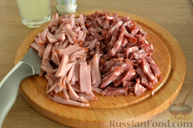 Фото приготовления рецепта: Мясная солянка - шаг №5
