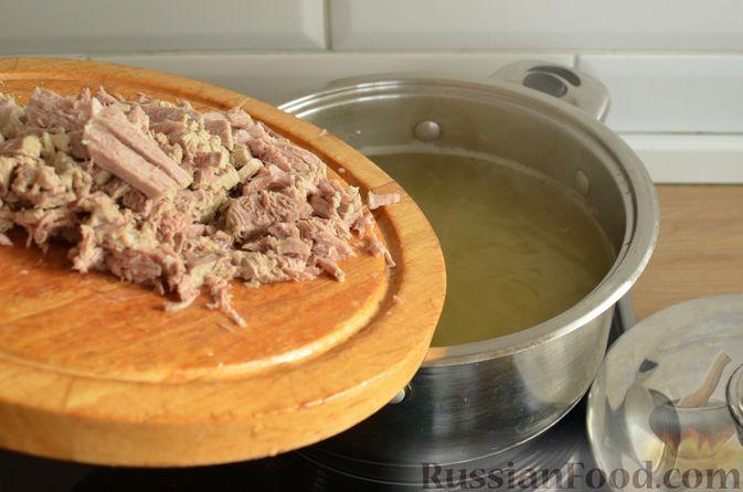Фото приготовления рецепта: Мясная солянка - шаг №12