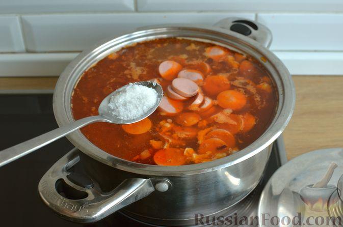 Фото приготовления рецепта: Мясная солянка - шаг №16
