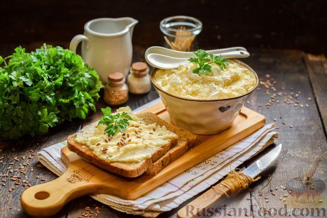 Фото к рецепту: Творожный плавленый сыр