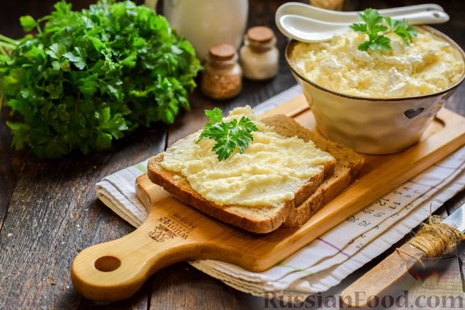 Фото приготовления рецепта: Творожный плавленый сыр - шаг №12