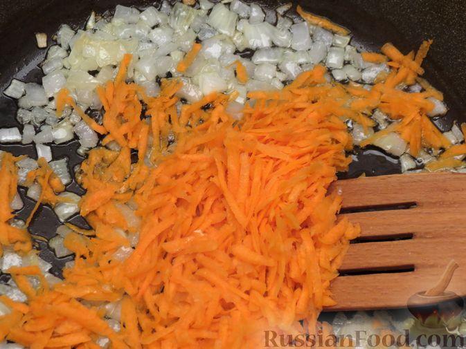 "Фото приготовления рецепта: Суп ""Затируха"" с индейкой - шаг №5"