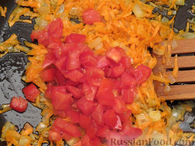 "Фото приготовления рецепта: Суп ""Затируха"" с индейкой - шаг №8"