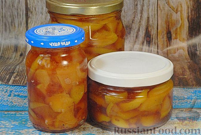 Фото приготовления рецепта: Айвовое варенье - шаг №15