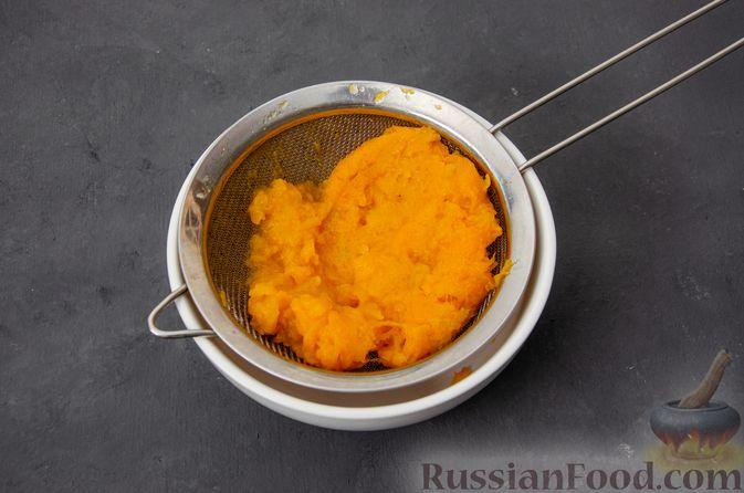 Фото приготовления рецепта: Тыквенные сконы с грецкими орехами и корицей - шаг №4