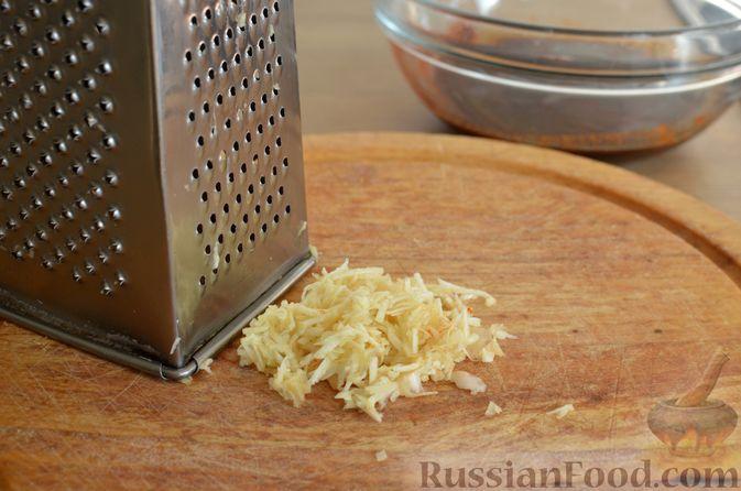 Фото приготовления рецепта: Куриные чипсы (джерки) - шаг №3