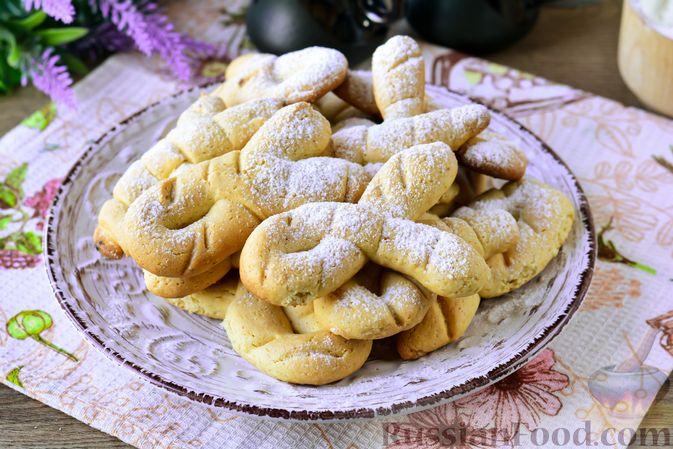 Фото к рецепту: Песочное печенье на растительном масле