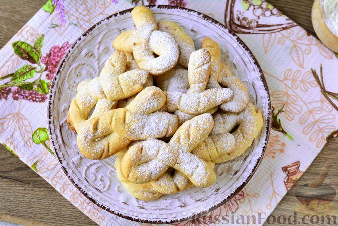Фото приготовления рецепта: Песочное печенье на растительном масле - шаг №12
