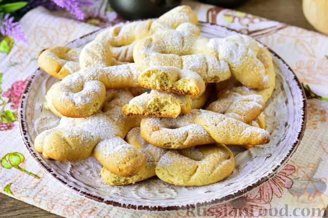 Фото приготовления рецепта: Песочное печенье на растительном масле - шаг №13
