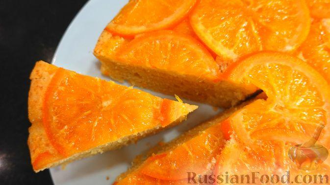 Фото к рецепту: Апельсиновый пирог