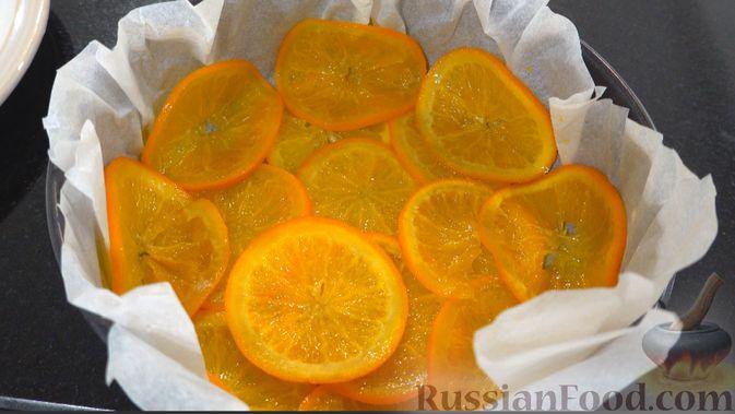 Фото приготовления рецепта: Апельсиновый пирог - шаг №3