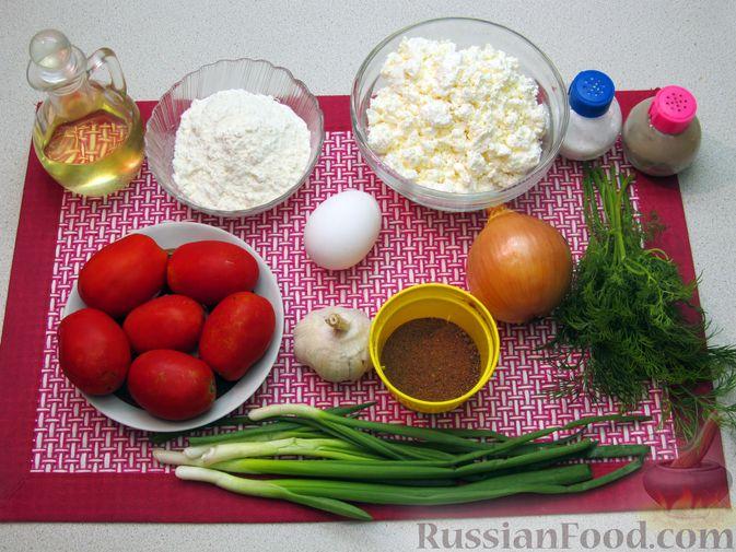 Фото приготовления рецепта: Несладкие ленивые вареники с томатным соусом - шаг №1